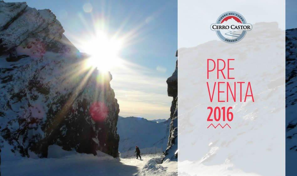 Preventa Cerro Castor 2016