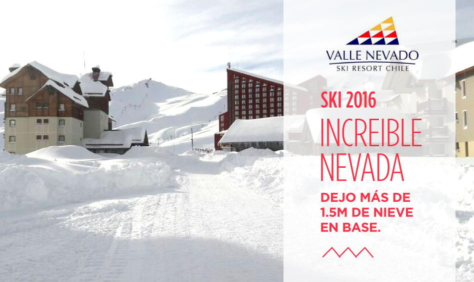 Valle Nevado – Increíble Nevada