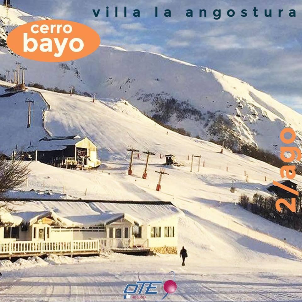 Cerro Bayo luce cubierto de nieve este 2 de agosto, y te ofrece los mejores plan…