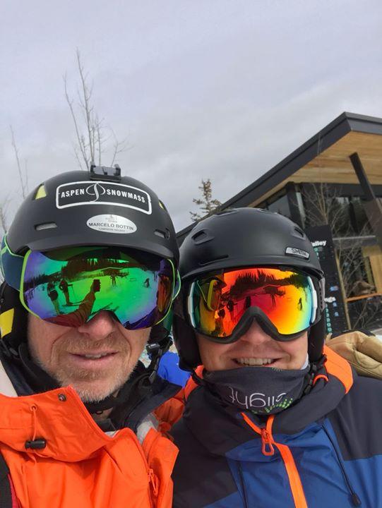 OTE SKI ya esta en Aspen Snowmass!!! Marcelo Bottino, presidente de OTE, esta nu…