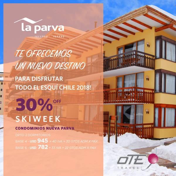 La Parva es un acogedor pueblo de montaña a 50km de Santiago de Chile, y pegado …