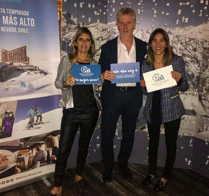 Valle Nevado lanzó su Temporada 2018 en Argentina con un evento en Polo Bar La D…