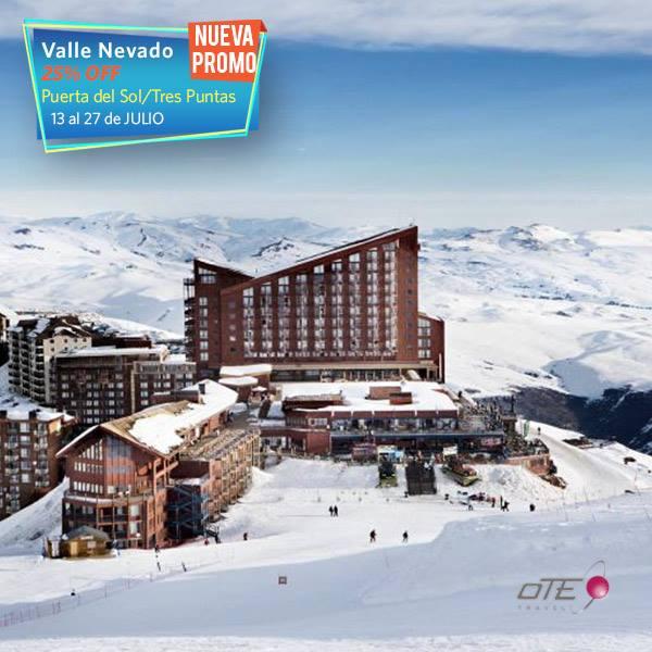 #ValleNevado: Nueva promo exclusiva para  #Argentina  Del 13 al 27 de julio: Ho…