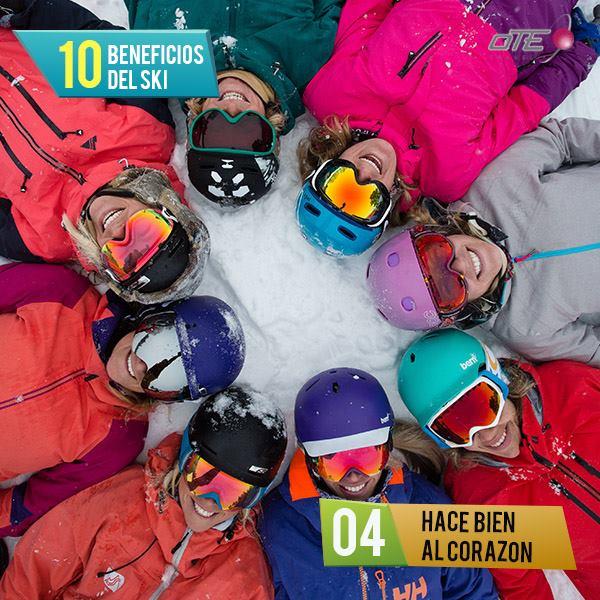 #top10 Beneficios del esquí! #4 Hace bien al corazón  Protege frente a enferme…