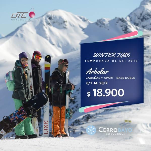 Cerro Bayo ofrece lo mejor para vos y tu familia, una semana se esquí con un pai…