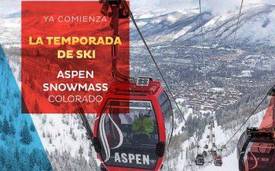 ASPEN/SNOWMASS 2018-2019  Se viene la temporada de invierno en el hemisferio nor…