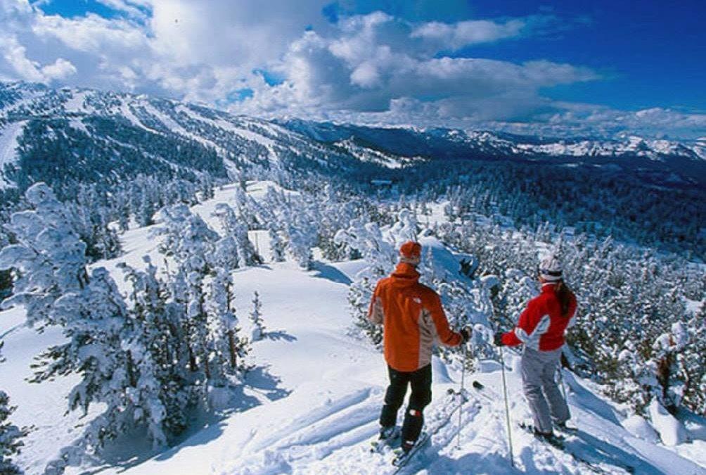 ¿Te imaginas por qué razón este paraíso se llama Heavenly Mountain?  OTE SKI ti…