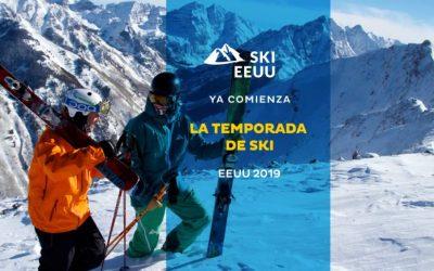 Ya comienza la temporada de Ski EEUU 2019