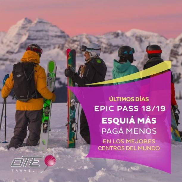 #EpicPass es el pase internacional de temporada que te permite esquiar en más de…