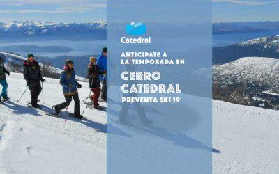 Cerro Catedral Preventa Ski 2019