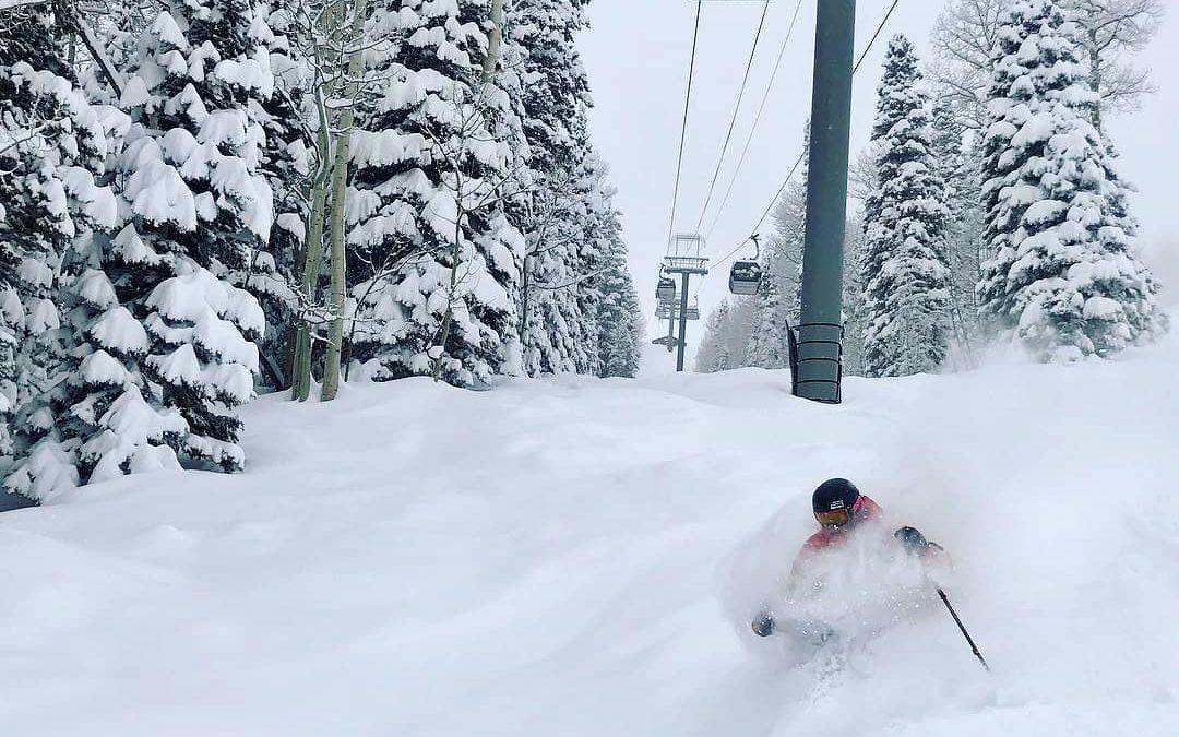Si te preguntan cómo es la nieve en polvo, mostrales está foto de la tarde del m…