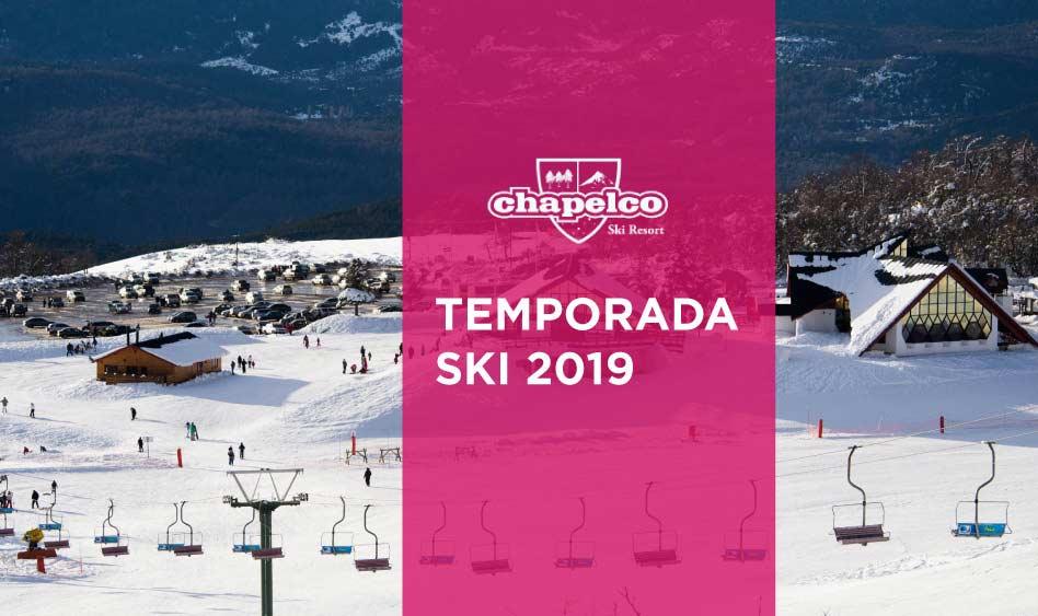 Chapelco. Arranca la temporada ski 2019