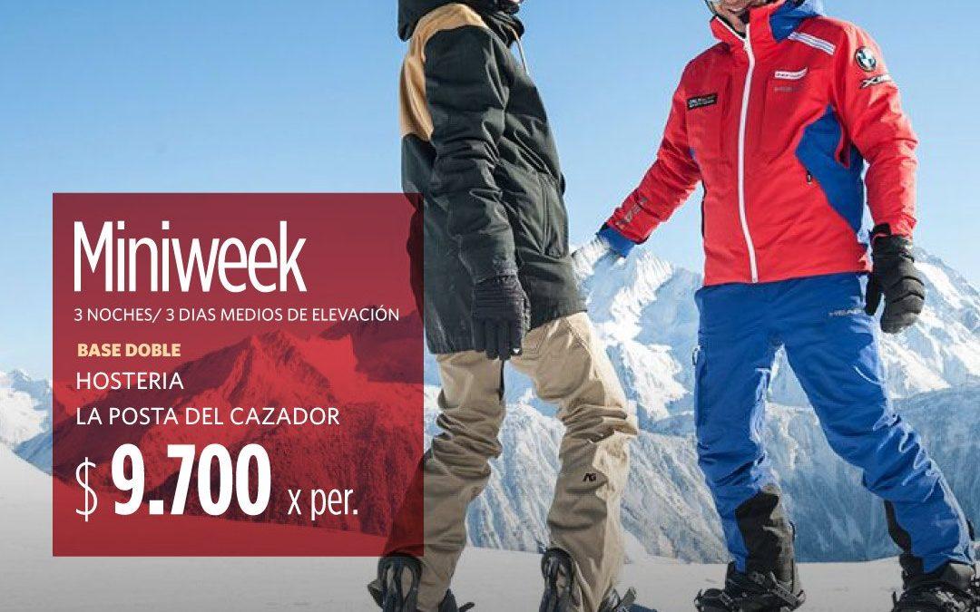 Aprovechá las mejores tarifas y volá a la nieve de San Martín de los Andes Hacé…