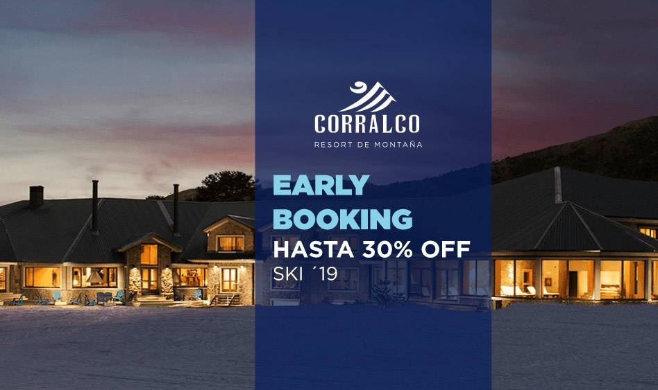 Corralco Early Booking Ski 2020 – Hasta 30% OFF