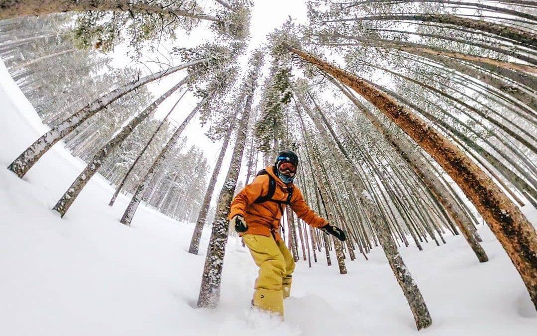 No para de nevar en @breckenridgemtn  El centro de nieve ubicado en Colora…