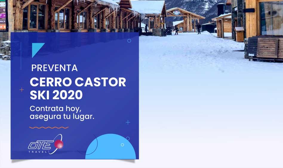 Ski Cerro Castor | Preventa temporada 2020
