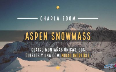Charla por ZOOM. Aspen