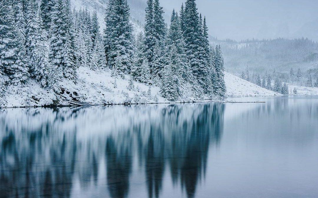 Así amaneció hoy Aspen/Snowmass, el centro de ski de Colorado (EEUU) que en dos …