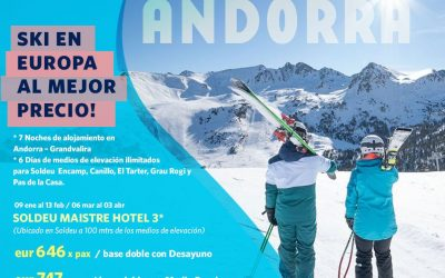 #Grandvalira es un paraíso para el esquiador!   Ubicado en el principado de Ando…