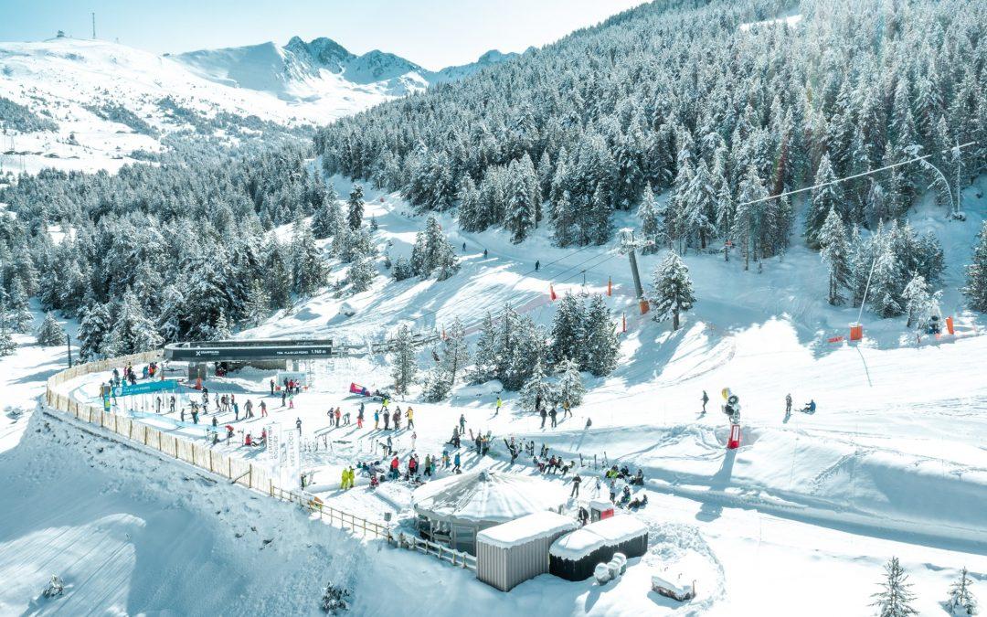 #VIERNES y tu cabeza quiere nieve? ⠀ Te dejamos esta increíble postal de #plade…