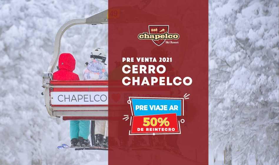 Cerro Chapelco Pre Venta Ski 21