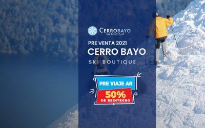 Cerro Bayo Pre Venta Ski 21