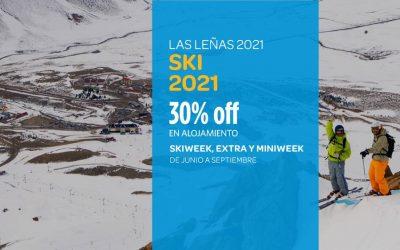 Ski Las Leñas 2021 – Preventa