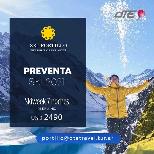 Ski Portillo –  Preventa SKI 2021