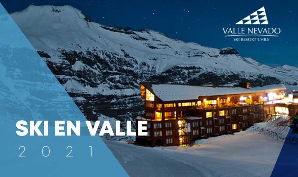 Ski Valle Nevado 2021